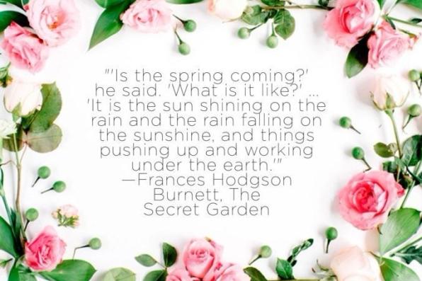 secret garden spring